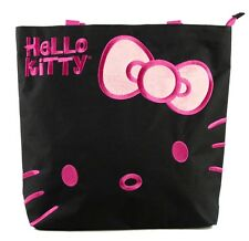 NEW Hello Kitty Sanrio Women Girls Tote Bag Handbag Purse Shopper  - Black Color