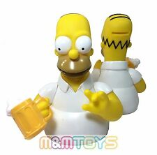 The Simpsons Family Homer Bust Bank Figure Coin Piggy Bank with Beer Mug
