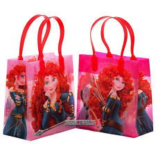 Disney Princess Brave Authentic Licensed Small Party Favor Goody Bags - 12 Bags