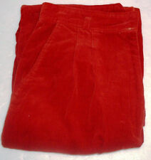 Vintage Filly's Run Burgundy Corduroys Pants Front Pleated Size 11/12 All Cotton