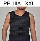 New PE Bullet Proof Vest/Jacket Body Armor NIJ Level IIIA 3A 38 Layers 2XL