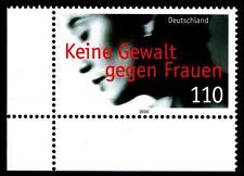 2093 ** - Keine Gewalt gegen Frauen - Eckrand unten links - postfrisch