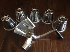 5 Cone Vintage Rival Kitcheneer Combo Salad Master & Meat Grinder attachments