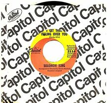 MFD IN U.S.A. NM POP 1968 45 RPM SOLOMON KING : SHE WEARS MY RING