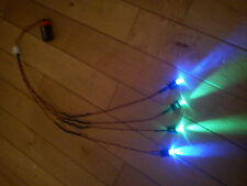 RC Car Truck LED Light Kit Ultra Bright LARGE 10mm LED HPI Traxxas BLUE & GREEN