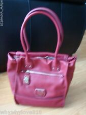 NWT GUESS Hazeltion TOTE HANDBAG 100% AUTHENTIC Red
