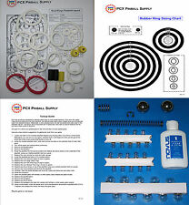 1986 Williams Road Kings Pinball Basic Tune-up Kit - Includes Rubber Ring Kit