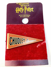Universal Studios Harry Potter Chudley Cannons Pennant Pin New with Card