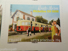 FRANCE 2014, timbre AUTOADHESIF TRAIN, MICHELINE XM 5005, neuf**, VF MNH STAMP