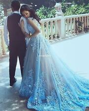New Vintage Long Formal Evening Dress Celebrity Cocktail Party Prom Wedding Gown