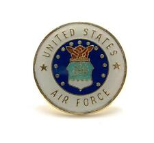 Wholesale Lot of 12 US Air Force Insignia Seal Lapel Hat Pin Military PPM019