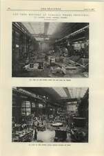 1925 New Iron Foundry At Darnall Works Sheffield Casting Pits Stoves Sand Plant