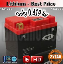 Lightweight motorcycle lithium battery ONLY 419g Replace YTX5L-BS MF AGM LiFePO