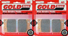 BMW K 100/2 *ABS* (1988-1990) K100-2 ' SINTERED FRONT BRAKE PADS 'AD072 FA171HH