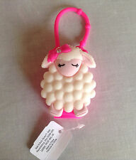 BATH & BODY WORKS LAMB LAMBIE HOT PINK POCKETBAC HAND GEL HOLDER EASTER NWT