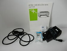HP PSC 1500 All in One series User Guide, Power Cables, HP 92 Black Ink JAN 08