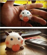 Cute Game LOL League of Legends sheep poro doll toys figure keychain keyring