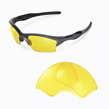 WL Yellow Replacement Lenses For Oakley Half Jacket 2.0 XL Sunglasses