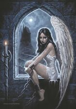 Anne Stokes Gothic Siren large fabric poster / flag 1100mm x 750mm (hr)