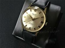 Gold plated vintage automatic Swiss watch Relide 21 j serviced  as 1680 1965