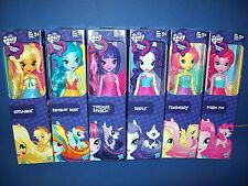 MY LITTLE PONY Equestria Girls 6 Doll Rainbow Dash  - Apple Jack - Pinkie Pie