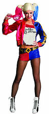 Deluxe Suicide Squad Harley Quinn Costume Halloween Cosplay Adult Size Large