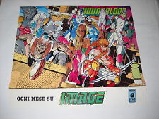 POSTER / MANIFESTO LOCANDINA YOUNGBLOOD IMAGE  Star Comics N. 1 Rob Liefeld