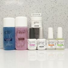 Gelish Harmony Kit 7pc Cleanser +Remover 4oz +Base +Top +pH Bond +Oil +Structure
