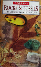 COLLINS ROCKS & FOSSILS THE ULTIMATE GUIDE TO THE EARTH IN COLOUR HARDBACK