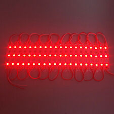 20 LED RED MODULES Module STRIP WATERPROOF BOAT DECK GARDEN MARINE CARAVAN LIGHT