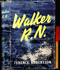 WWII 1st Edition 1956 WALKER R.N. Terence Robertson Hardcover w/jkt