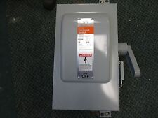 Siemens/ITE Fusible Safety Switch F-221H 30A 2P 240V Nema 12 Enclosure New
