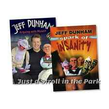 Jeff Dunham Comedy Specials Spark of Insanity + Arguing with Myself Box/DVD Sets