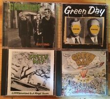 Lot of 4 CDs by Green Day