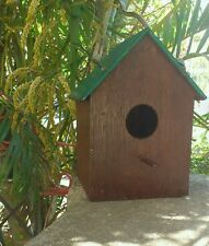 COMBO OF 2 ## Beautifully Handcrafted wooden Sparrow House, Bird Nest Nest box.