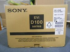 SONY EVI D100 SERIES COLOR VIDEO CAMERA