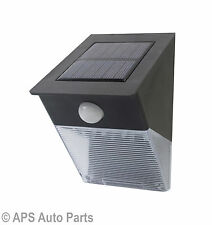 Solar Powered Movement Detector 12 LED PIR Motion Sensor Security Garden Light