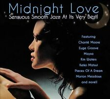 Midnight Love - Sensuous Smooth Jazz At Its Very Best [CD New]