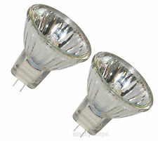 6V Mr11 10W Halogen Light Bulb 6V Lamps Pack Of 2 10Watts Ce Approved New