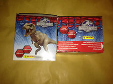 1 Box of Jurassic World Panini Stickers 50 Packs Party Bag Filler