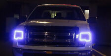 Multi-Color Changing Shift LED RGB Headlight Halo Ring Set 2009-2014 Ford F-150