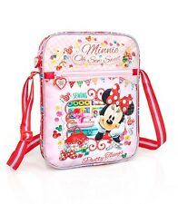 Disney Minnie Mouse Red Tablet Cover Bag Shoulder Messenger School Travel Bag