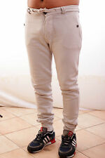 BNWT Close Up mens Trousers Pants Beige Low Crotch Beige Cream Large L Nice
