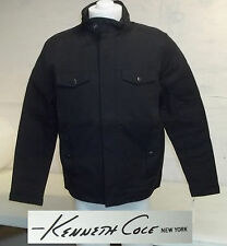 Kenneth Cole New York Men's Jacket-BLACK-LARGE-NWT