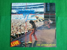 VAN HALEN - Live : The Atomic Punks , 1992 korea vinyl lp Only & Unique , Sealed