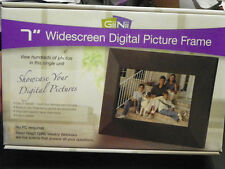 "GiiNii 7"" Widescreen Digital Picture Frame (Black)"