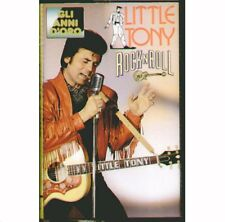 """LITTLE TONY """" GLI ANNI D'ORO VOL.2  ROCK 'N' ROLL """" MUSICASSETTA NUOVA MC K7"""