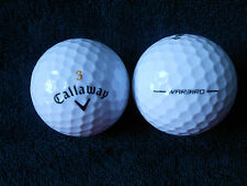 "20 CALLAWAY ""WARBIRD""  BLACK TICK  2015/16 MODEL Golf Balls - ""PEARL"" Grade."