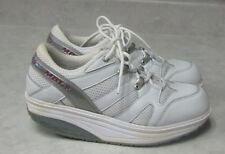 Women's Size 7 1/2 White MBT Exercise Sneakers Shoes