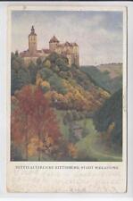 AK Stadtschlaining, Burg Schlaining, 1921 Künstler K. M. Schuster